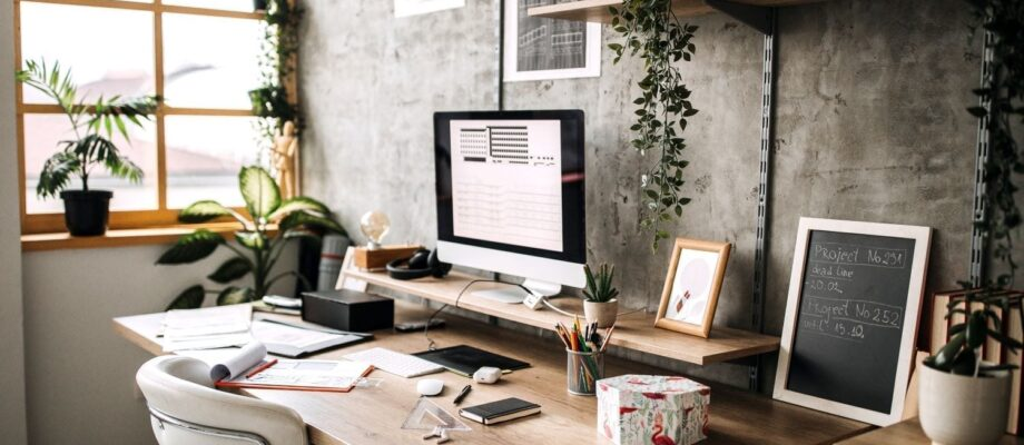 3 Ways To Turn Your Kitchen Table Into Your Home Office Space